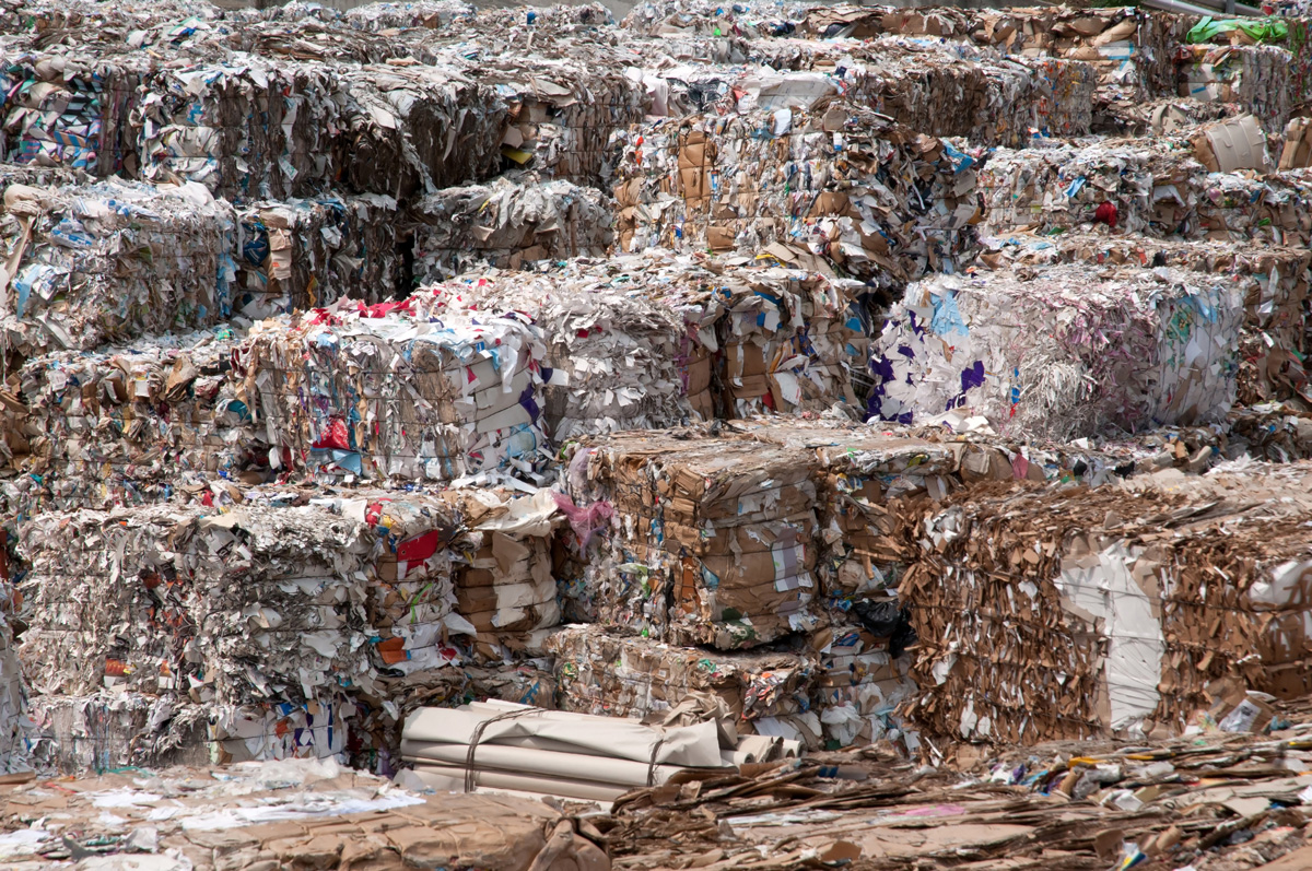 Europe and Central Asia - composition of municipal waste 2025